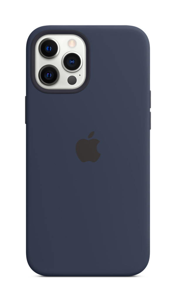 Image for IPHONE 12 Pro Max Silicone-Deep Navy from Omantel Store